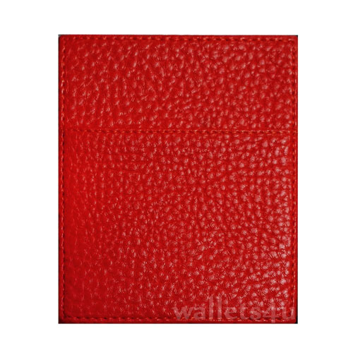 Magic Wallet, Leather Red, Coin Pouch - CP0293